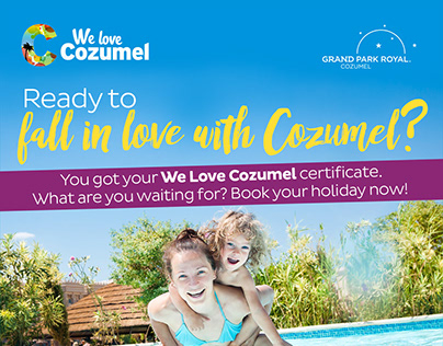 Email Campaign | Grand Park Royal Cozumel | WeLoveCoz