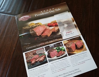 Print Design: Omaha Steaks