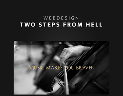 Two Steps From Hell - Site web