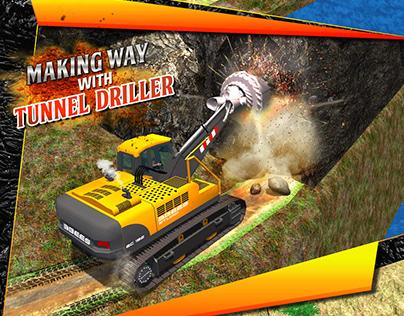 Tunnel Construction 2018 - Mega Machines Simulator