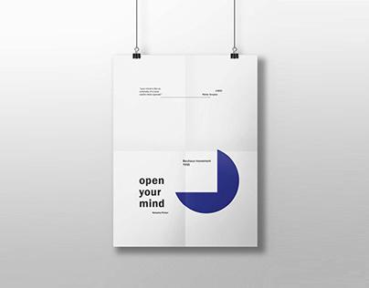 "Bauhaus ""Open Your Mind"""