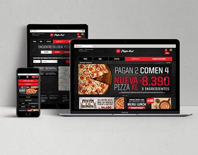 PIZZA HUT - Diseño