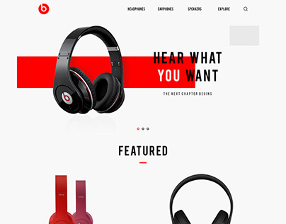 Beats Redesign Concept By. Sarunyoo R.
