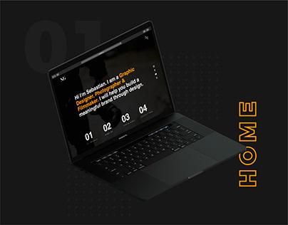 Sgallor Design Website - Personal Brand