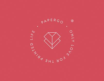 PaperGo Brand Identity