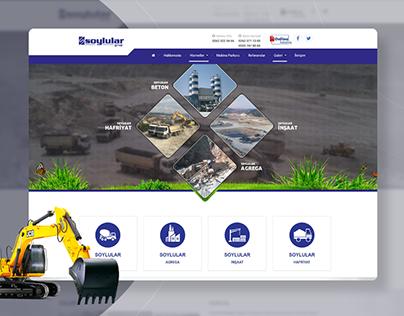 Soylular Grup Website Design