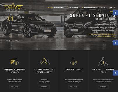 Car Service Website Template