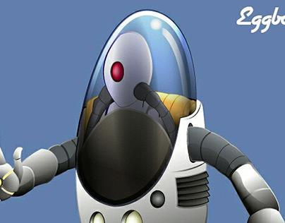 Eggbot Vector Illustration