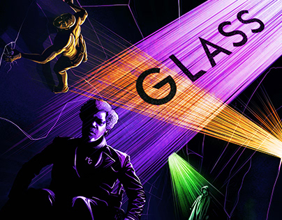 GLASS (movie poster)