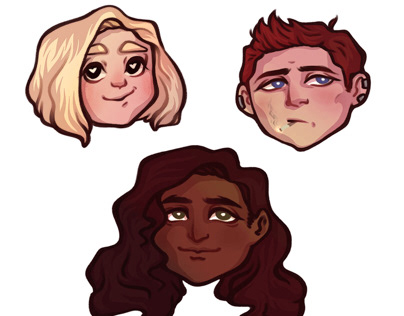 Stickers with OCs