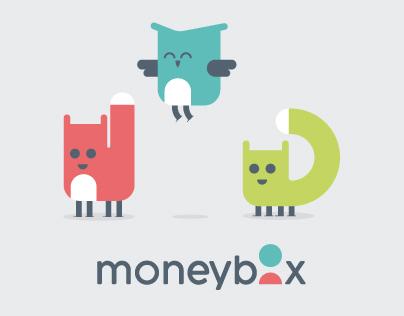 Moneybox Visual Identity