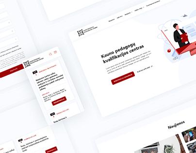 Kaunas Pedagogy Qualification Center | WEB DESIGN