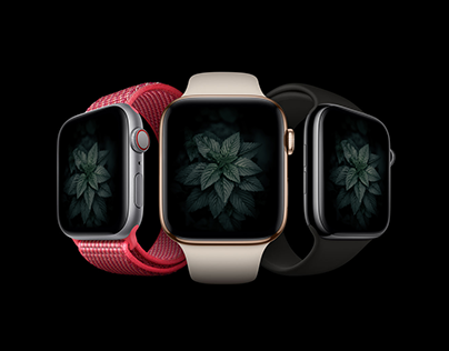 Apple Watch Mockup PSD Free Download