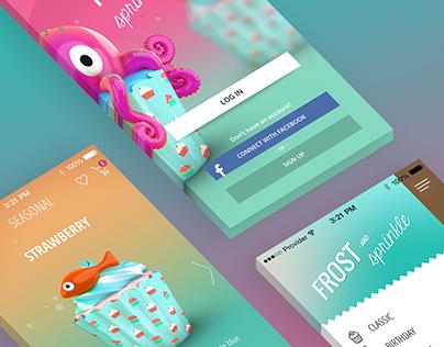 Frost & Sprinkle - Mobile app - UI/UX