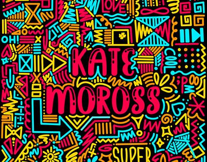 Kate Moross style poster