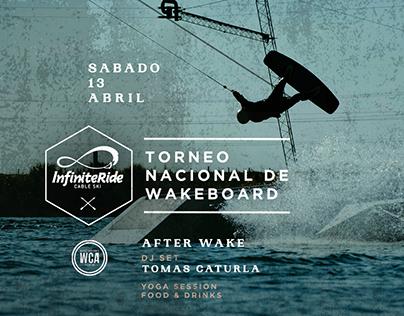 Torneo nacional de wakeboard