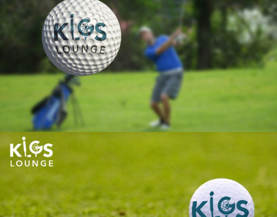 Kigs lounge Logo Design