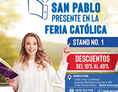San Pablo poster design