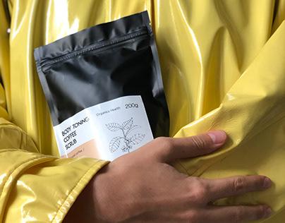 VSM coffee scrubs