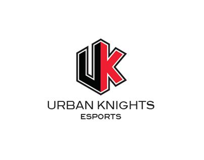 UrbanKnightsEsport Logo design