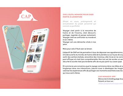 CAP Nomadic app