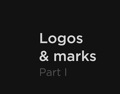 Logos & marks. Part I