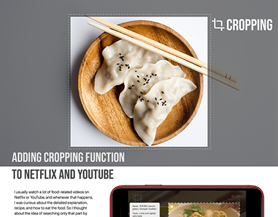 Cropping - add cropping function to netflix and youtube