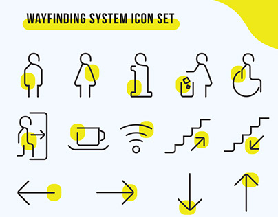 Wayfinding System Pictogram