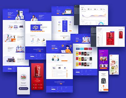 Sigil Website design Template