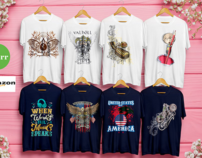 typography & custom t shirt design