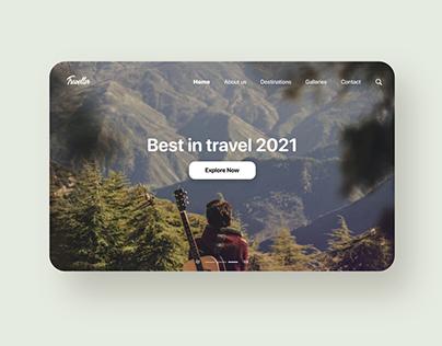 Traveller - Webdesign