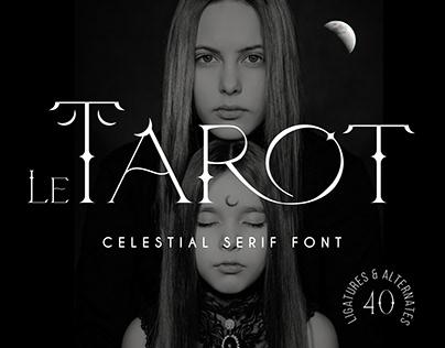 Le Tarot - Celestial Serif Font