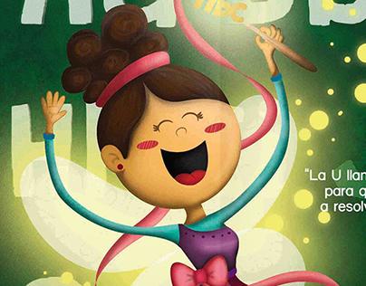 """The ABC Fairy"", guatemalan tale illustration."