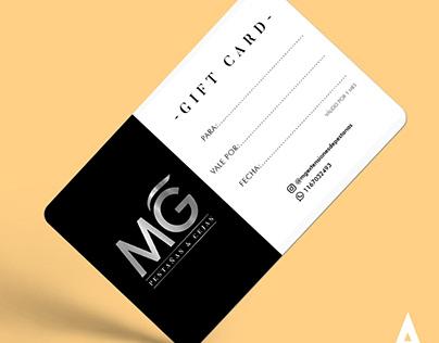 """Diseño de Gift Card para MG """"Pestañas & Cejas"""""""