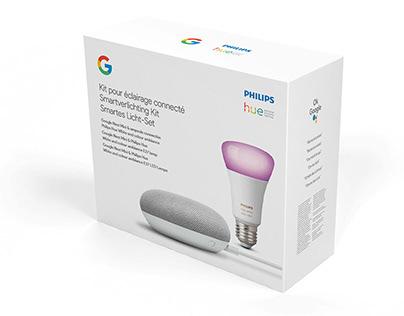 Philips Hue + Google