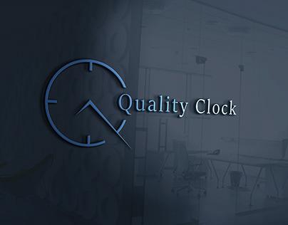 Quality Clock Logo Design