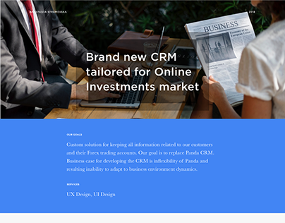 Brand new CRM