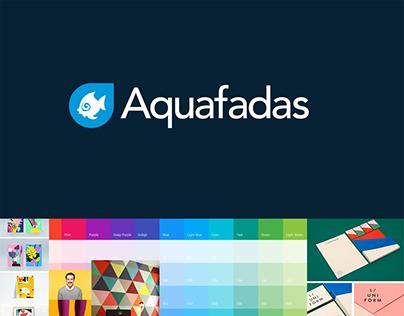 Aquafadas - Branding / Website