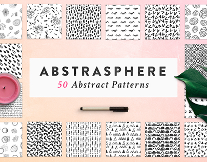Abstract Seamless Patterns + FREEBIE