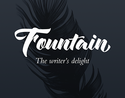 Fountain — the writer's delight
