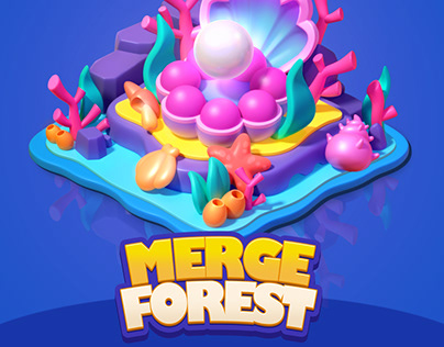 Merge Forest-物件制作
