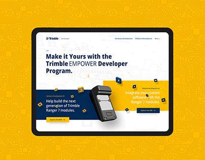 Trimble Developer Website