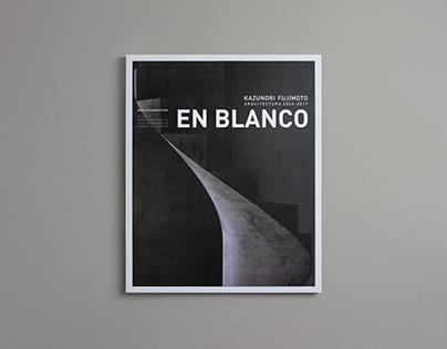 En blanco magazine