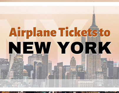 Airplane Tickets to New York