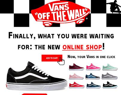 Email marketing Vans