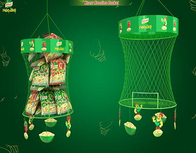 Knorr Noodles Mesh Basket Display