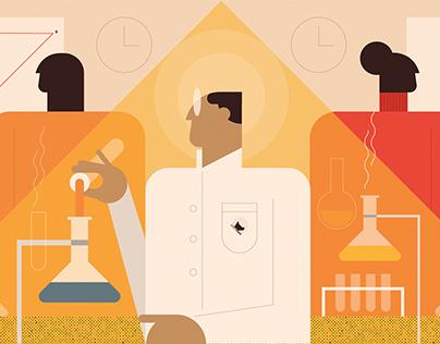 Milestone Institute illustrations