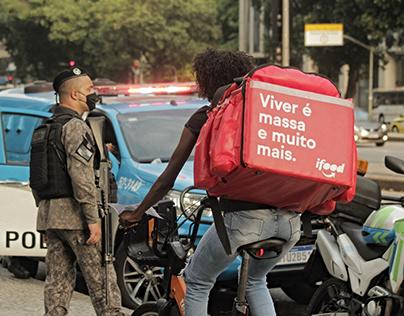 01.02.21 - Manifestação contra aumento da passagem RJ
