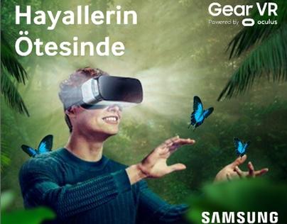 Samsung Gear VR Html5 Banner