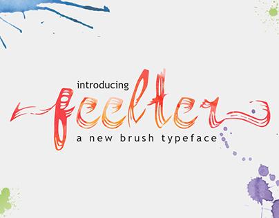 Feelter Typeface